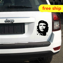 1pcs removable CHE GUEVARA vinyl sticker for car jeep,tiguan,mazda CX5,Hyundai IX35,honda CRV,toyota RAV4,FOCUS