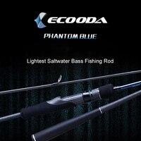 Ecooda 2,3 м 2,6 м углеродного волокна моря Удочка легкий пресной воды/морской окунь удочка