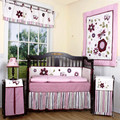 8pieces Crib Infant Room Kids Baby Bedroom Set Nursery Bedding cotton  patchwork cot bedding set for newborn baby boy girl