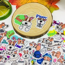 40 Pcs/lot Anime love dog Scrapbooking Stickers  Car Case Waterproof Laptop Bicycle Notebook Backpack waterproof Sticker
