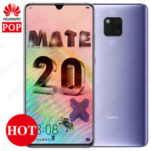 HUAWEI Mate 20 X Mate 20X Smartphone 7.2 inch Full Screen 2244x1080 Kirin 980 Octa Core EMUI 9.0 5000mAh 4*Camera Quick Charger(China)