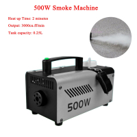 2018 New Remote Control LED 500W Smoke Machine Fog Machine Professional Smoke Ejector / Stage DJ Equipment / LED Fogger