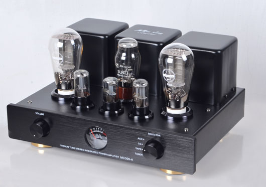 Finished MC300-A Pure Class A Single Ended Tube Amplifier HiFi 300B Integrated Tube Amplifier 8W+8W music hall pure handmade hi fi psvane 300b tube amplifier audio stereo dual channel single ended amp 8w 2 finished product