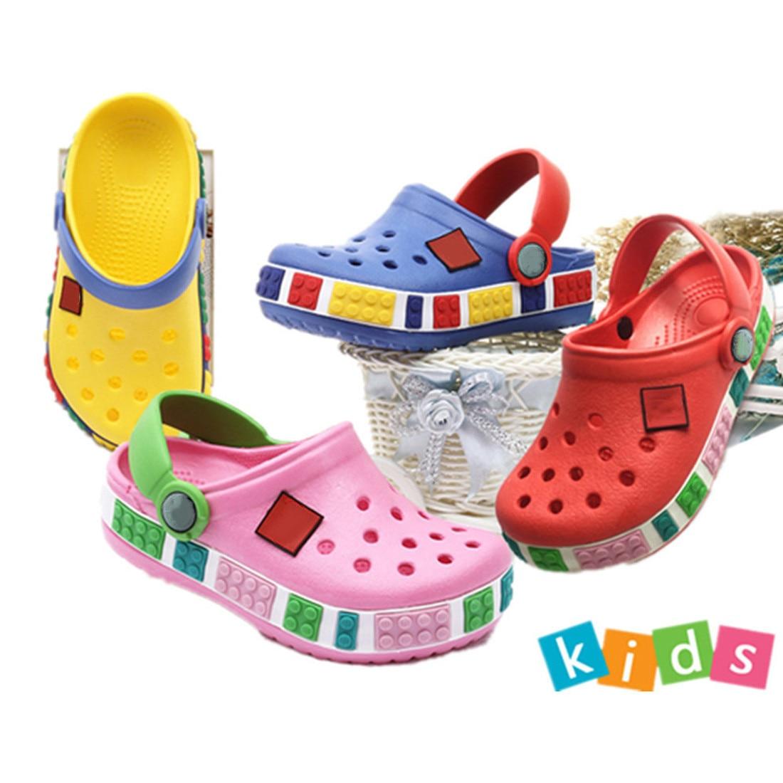 2019 Summer Toddler Boy Girls Beach Slippers Children Sandals 3D Cartoon Cave Kids Shoes EVA Resistance Breathable Antislip Baby