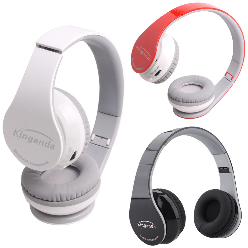 New Hand-free Headphone Wireless Bluetooth 4.0 Noise Cancelling Earphone for Smartphones Stereo Hi-Fi Headset Headphones new 5 in 1 hi fi wireless headset headphone earphone for tv dvd mp3 pc r179t drop shipping