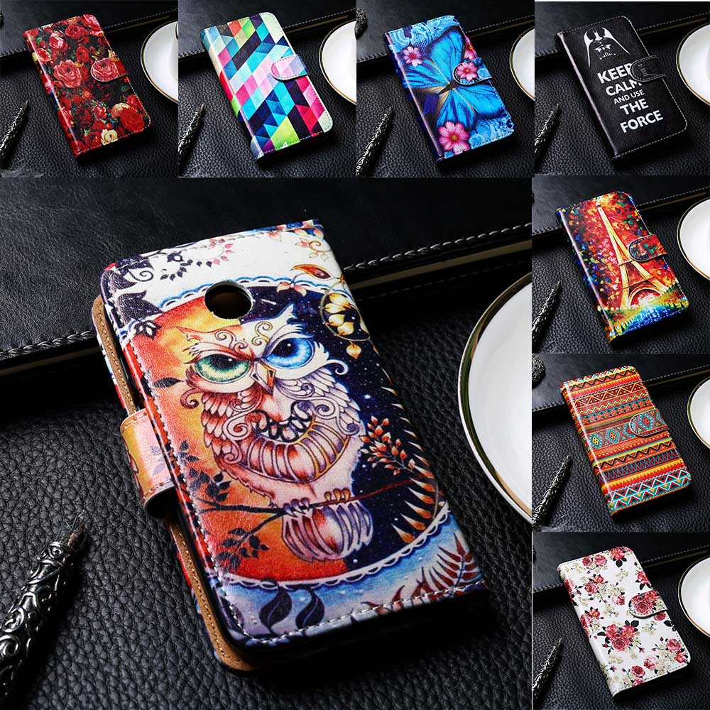 Flip PU Leather Phone Cover For Motorola Moto E/G/Nexus6/X/X2/G4/X Play/X Style/X3 Cases Magnetic Open Solid Phone Bags