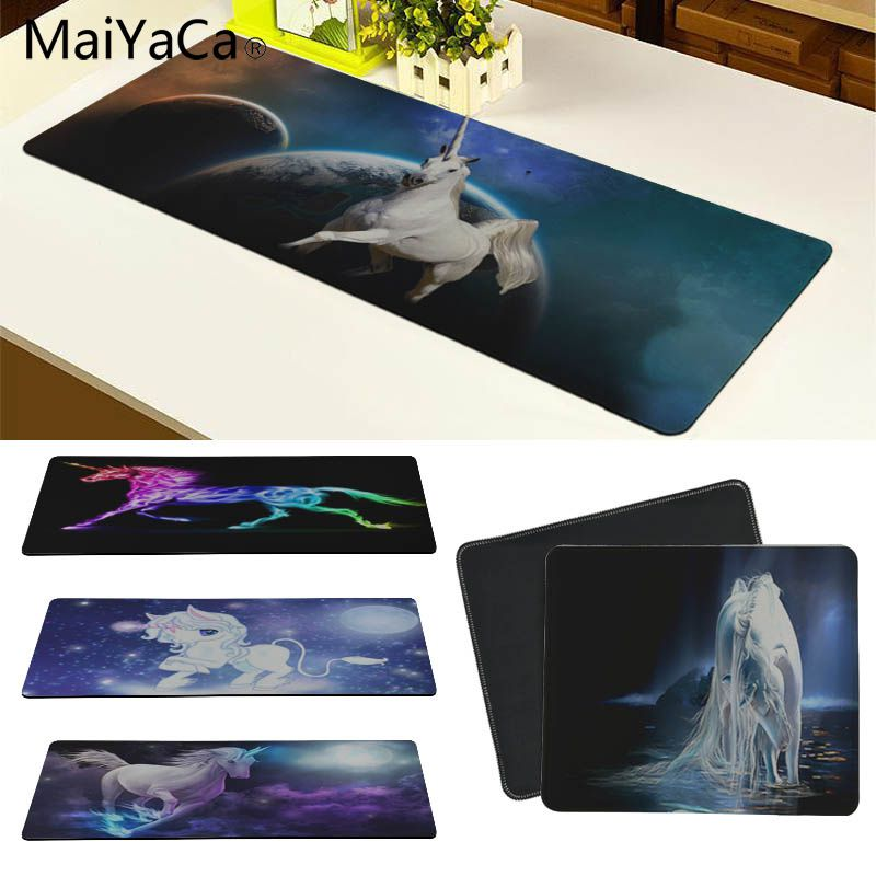 MaiYaCa Unicorn Customized laptop Gaming mouse pad Size for 30x60cm and 30x90cm Gaming Mousepads