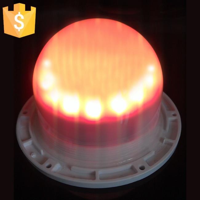 120 ملم الشحن المباشر المحمولة البسيطة مصدر الضوء LED مع متعدد الألوان للتحكم عن بعد القابلة لإعادة الشحن الكرة الحلي ديكور 10PCS