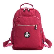 Jinqiaoer frauen rucksack wasserdichtem nylon 15 farben dame womens rucksäcke weiblichen beiläufigen reisetasche taschen mochila mochila feminin