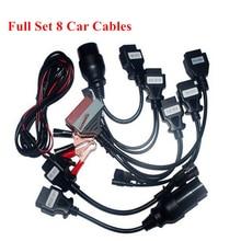 8 sztuk pełny zestaw kabli samochodowych kabel obd dla delphi vd nowy vci dla tcs pro