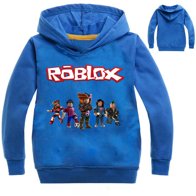 Blue Plaid T Shirt Roblox Boys Girls Cartoon Roblox T Shirt Clothing Red Day Long Sleeve