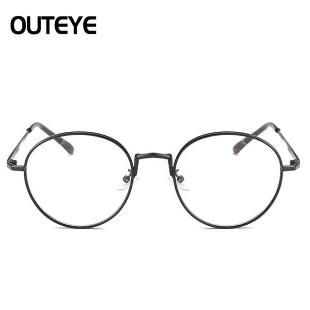 8dc794f98768f placeholder Claras Óculos de Lente Quadro Para Mulheres Dos Homens 2017  Moda Óculos Redondos Óculos de Armação
