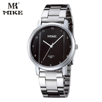 MK Mike Classic Simple Watch Female Wristwatches Couple Watch Gifts Stainless Steel Water Resistant Horloges Mannen