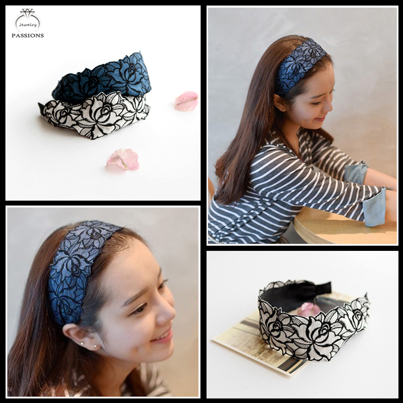 design hair band cloth embroidery