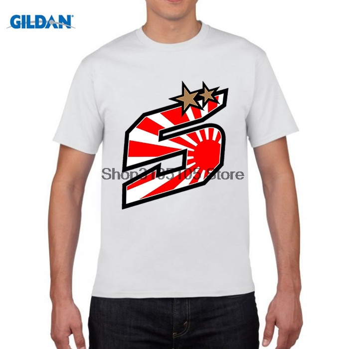 GILDAN designer t shirt MotoGp Johann Zarco 5 Sun Creative Design Adult O-Neck short T-Shirt High Quality Youth Casual t Shirts