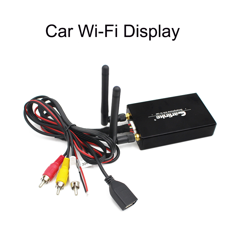 Carlinke Car WiFi Display WIFI Mirror Box Mirror Link for Car Home Video Audio Miracast DLNA Airplay Screen Mirroring 5.8G for ios11 5g wifi mirror box car wifi display android ios miracast dlna airplay wifi smart screen mirroring car and home hdtv