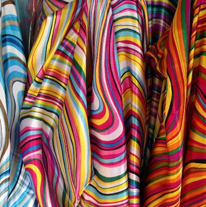 120cm*100cm synthetic silk cloth material fabric clothing ...