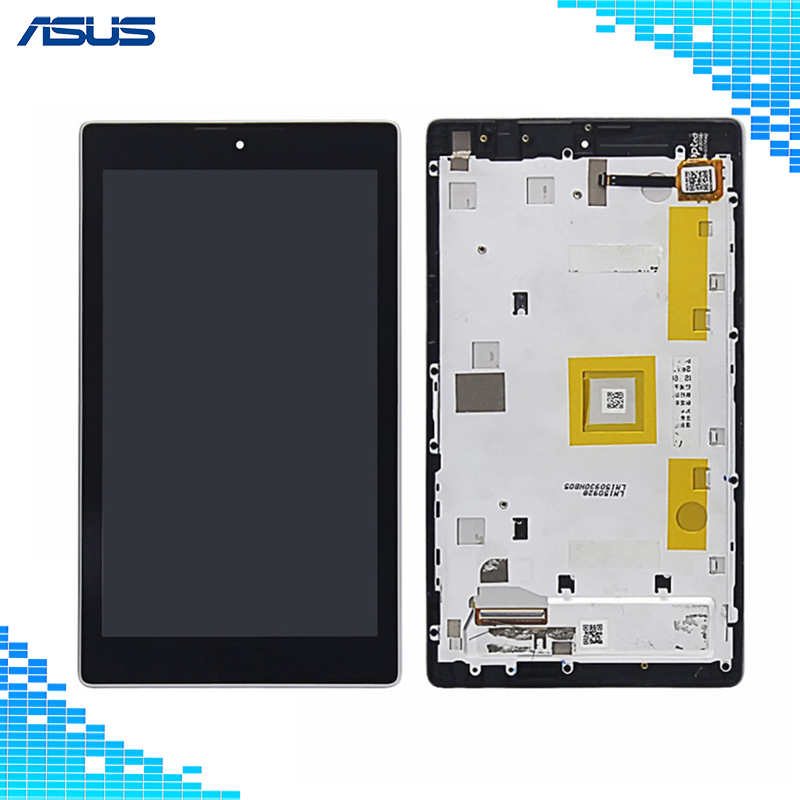 Asus Z170mg LCD Display Touch Screen Assembly Repair For ASUS ZenPad C 7.0 Z170MG Z170 MG LCD screen For Asus Z170MG Full screen folio stand pu leather cover case for asus zenpad c 7 0 z170 z170c z170cg z170mg 7 tablet 2 pcs screen protector