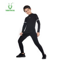 Soccer Jerseys 2019 Thermal Underwear Baby Boys Football Basketball Uniforms Kids Tracksuit Rashgard for Children Sport Sets
