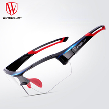 WHEEL UP Change Photochromic Polarized Cycling Glasses Bike Eyewear Sports
