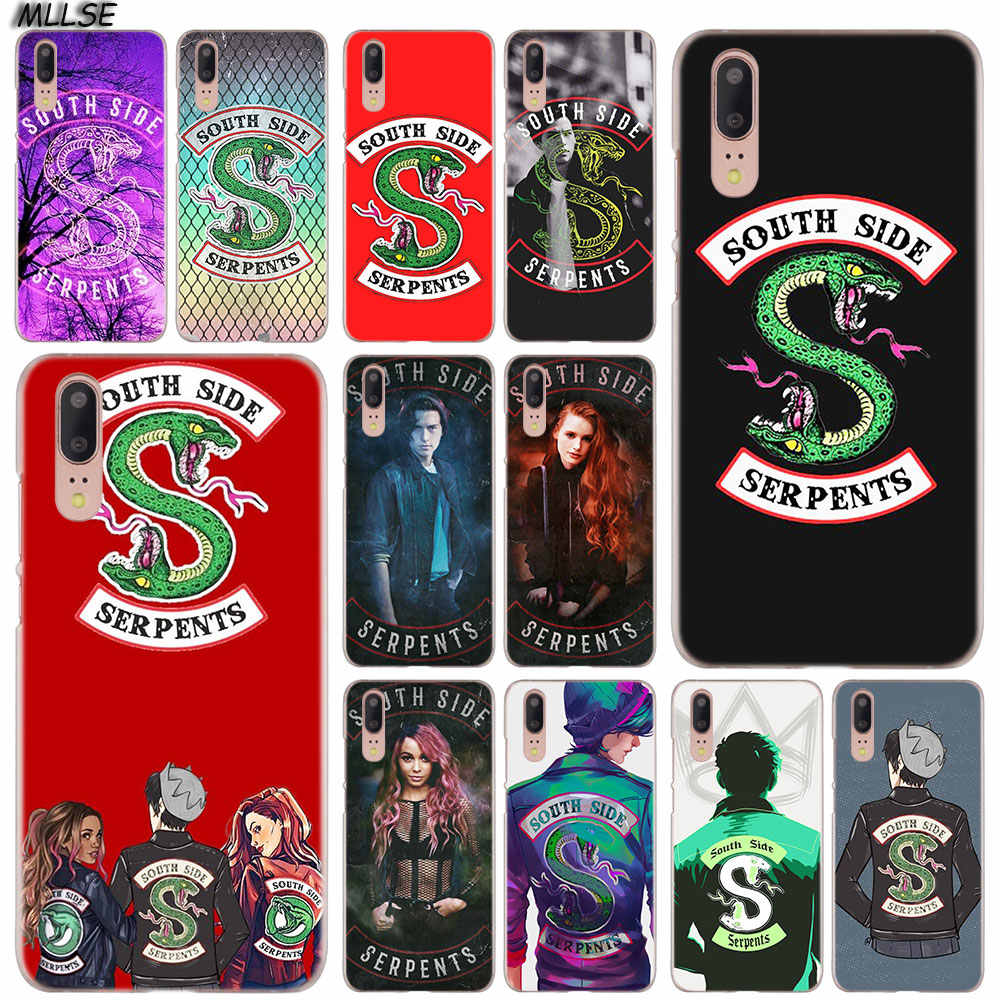 MLLSE Riverdale South Side Serpents style Fashion Case Cover for Huawei P30 P20 P10 P9 P8 Lite 2017 P30 P20 Pro Mini PSmart Plus