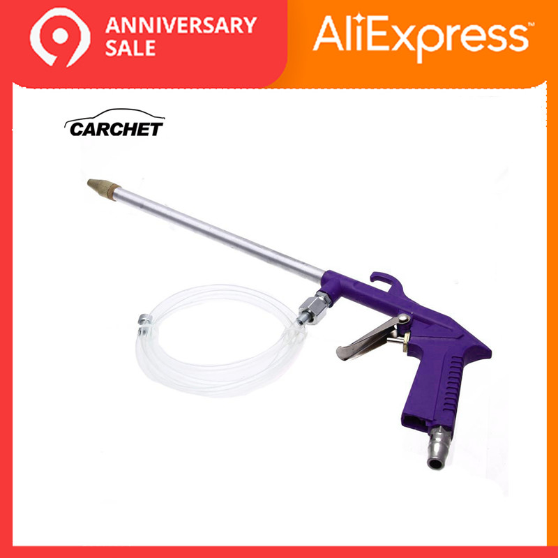 CARCHET High-pressure Cleaning Gun Car Oil Washer Oil Clean Gun Air Power Siphon Engine Oil Cleaner Curved Nozzle Gun Tools Wash
