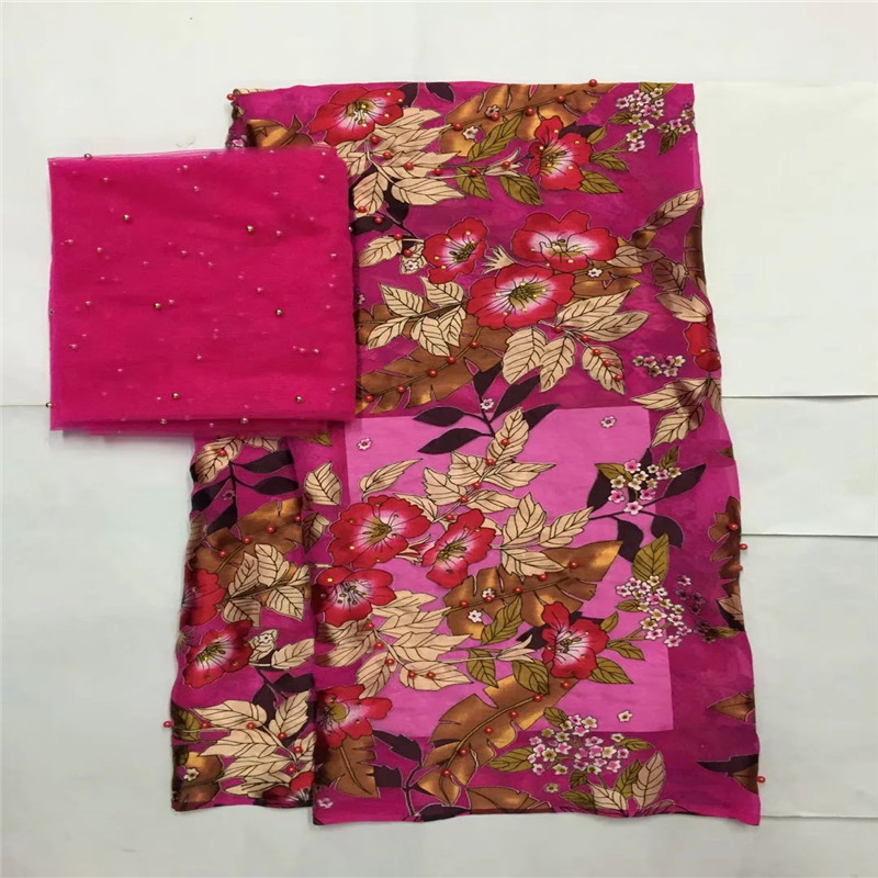5+2yards! most beautiful Silk lace Fabric Satin For Dress new arrival African silk velvet fabric good quality for gold LXE0308085+2yards! most beautiful Silk lace Fabric Satin For Dress new arrival African silk velvet fabric good quality for gold LXE030808