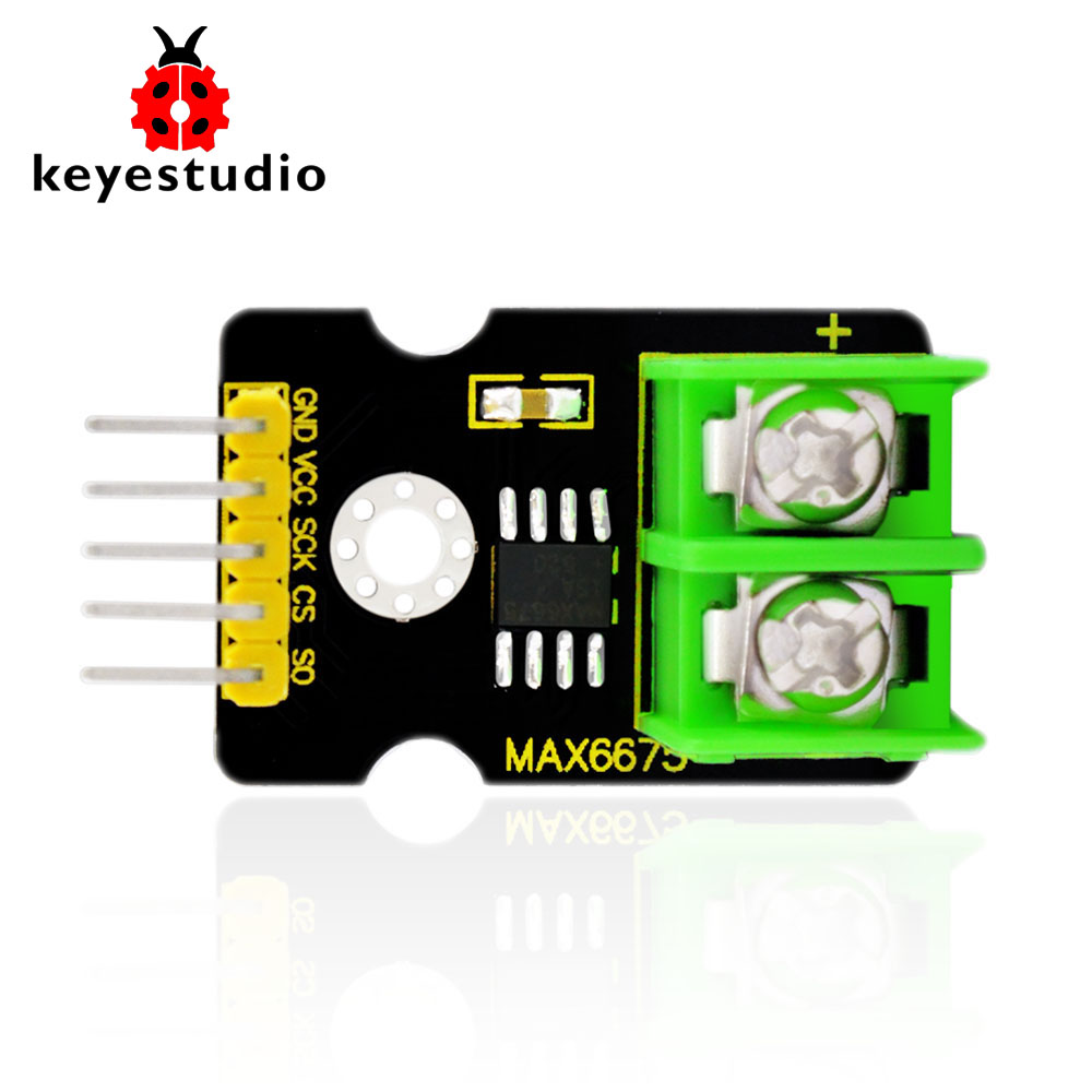 Free shipping! Keyestudio MAX6675 K-Thermocouple-to-Digital Converter module  for Arduino