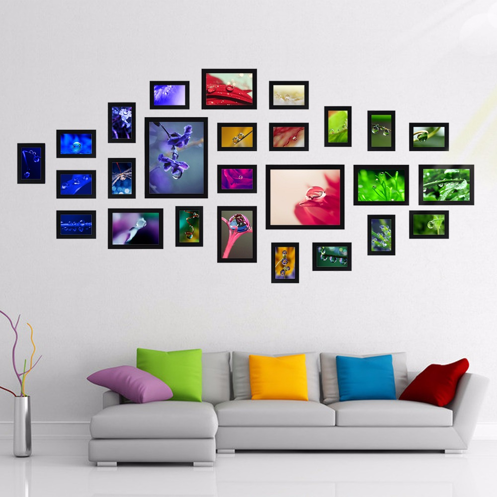 Popular picture frames sets buy cheap picture frames sets for Where can i find cheap home decor