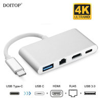 DOITOP 1080P 4K HD 4 In 1 USB 3 1 Type C To HDMI USB 3
