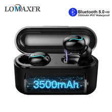 Q32s Wireless Earphones Bluetooth Headphones Earbuds 8D Stereo HIFI Headset With 3500MAh Charging Box for Iphone Android PK Q32