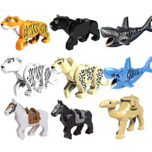 Compatible With legoe Small Bricks Animal Figures Model Building Blocks Accessory Educational Handmade Toys Gifts For Children