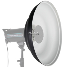 ASHANKS 42cm Waved Beauty Dish Reflector with Honeycomb Soft Cloth Two Mini Reflectors for Bowens Strobe Flash Light with Grid