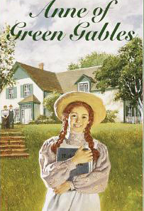 Anne Of Green Gables Book Cover Locket Necklace Keyring