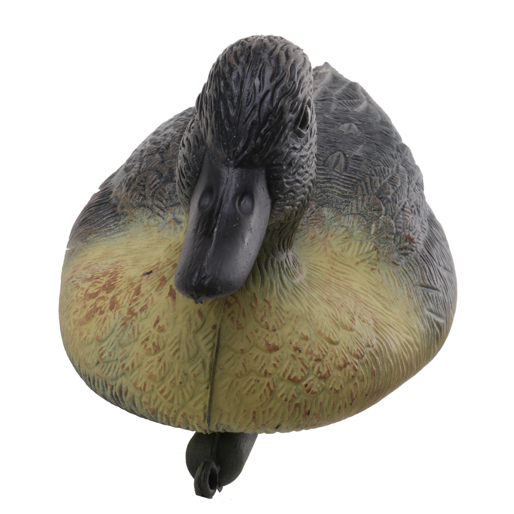 Pack of 5 Hunting Male Decoy Plastic Floating Duck Decoy Drake Yard Decor