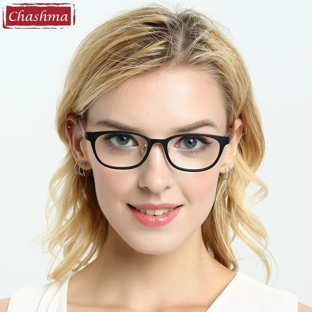 b4a63f01f0a Chashma Brand Big Kids Glasses Women Small Frame Ultra Light Ultem Material  Fashion Glasses Frames Plastic Titanium Frames Men