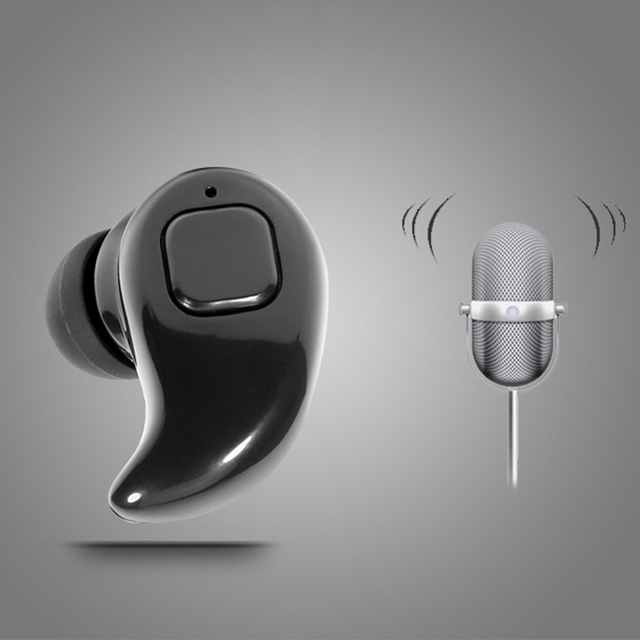 Mini Wireless Bluetooth Earphone Stereo Earbud Headset with mic invisible Bluetooth Handfree Car Kit earbuds for all smart phone