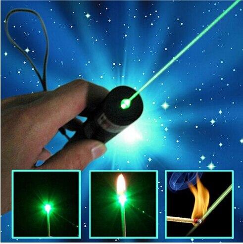 Alta Potencia quema mW 532nm potente puntero láser verde linterna quemadura partido Pop Ballon astronomía LAZER punteros plumas