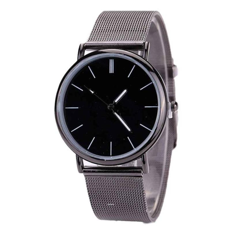 Watches Lady Dress Watch Lovers Metal Mesh Band Fashion Quartz Wrist Watch Relogio Masculino