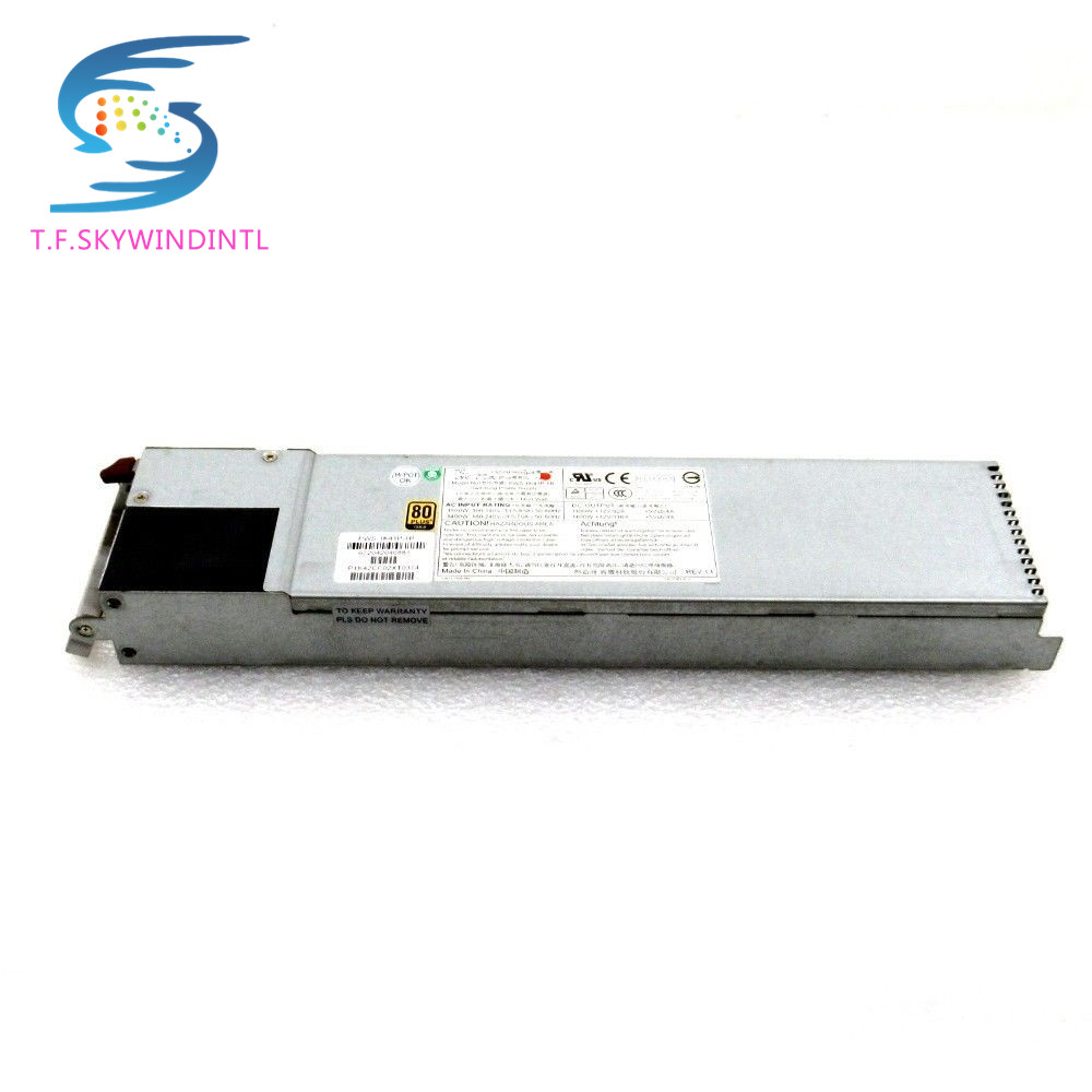 free ship Supermicro PWS-1K81P-1R 1800W 80 PLUS Platinum 1U Power Supply Module switching power supply for server high quality server power supply for pws 1k81p 1r 1800w fully tested