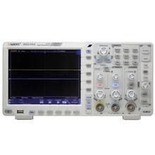 OWON XDS2102A 100 МГц 12 бит с высоким разрешением ацп цифровой осциллограф SPI/iec/RS232/может декодировать XDS2102A