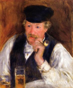 handmade oil painting Monsieur Fornaise Pierre Auguste Renoir art Reproduction High quality