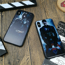 Marvel Avengers Case For Iphone X 8 7 6 6s Plus 5 5s Se Luxury Soft Silicone Phone Cover Spiderman Superman Coque
