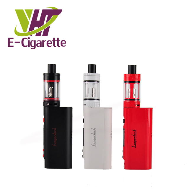 Original Kanger Topbox Mini Starter Kit TC 75W Mod Vape Temperature Control Subox Mini Pro Kits 4ml E Cigarettes