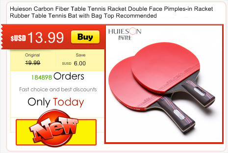 Huieson Exclusive Quality Rectangle Table Tennis Racket Case Bag Ping Pong  Paddle Bat Container Bag Red Blue BlackTable Tennis Accessories b4730c57d6
