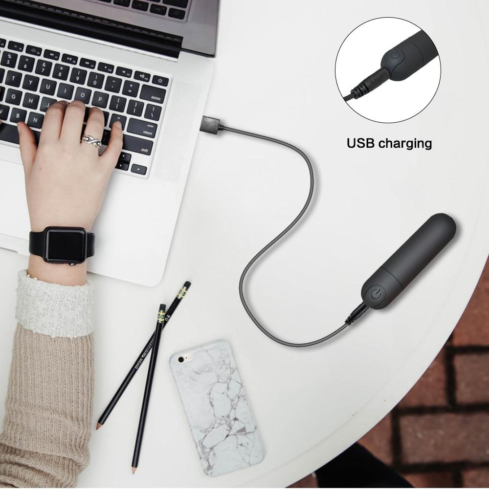 _08Vibrating Mini Bullet Waterproof Vibrator G-spot Massager Clitoris Stimulator Sex Toy for Woman Adult Sex Products