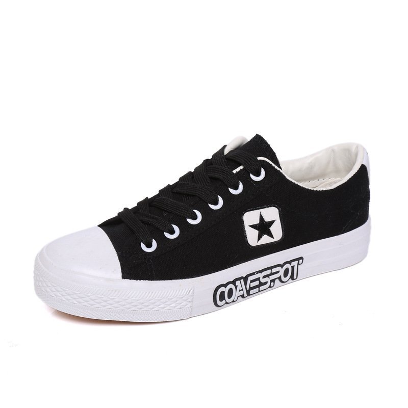 keds black and white canvas