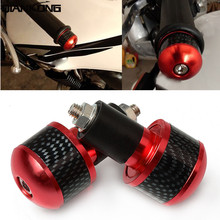 Motorcycle Handlebar Grips Ends Handle Hand Bar Caps For Yamaha SJ6N SJ6S FZ8 FZ4 X-MAX X MAX 125 400 250 300
