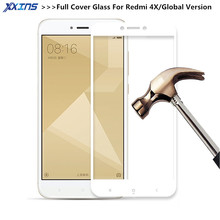 hot deal buy uvr redmi 4x glass tempered 2.5d full cover tempered glass xiaomi redmi 4 x prime screen protector redmi 4x glass film