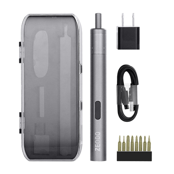 JZL Mini Cordless Electric Screwdriver Lithium Battery Rechargeable Multi-function Screwdriver Set For Mobile Phone Repair Tools